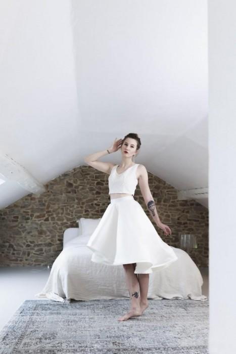 Robe de mariée tulipe